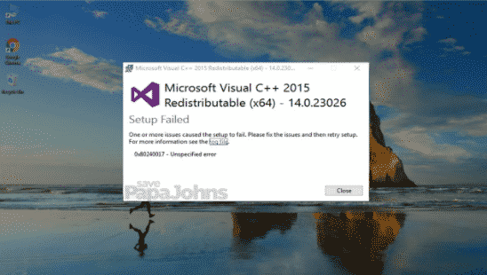 Microsoft Visual Credits