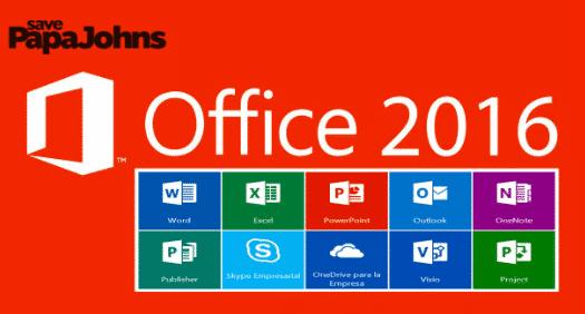 Aktivasi Office 2016