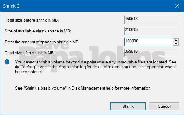 cara partisi hardisk di windows 10