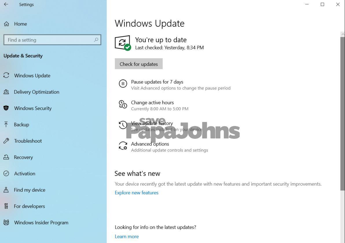 cara update windows 10 manual