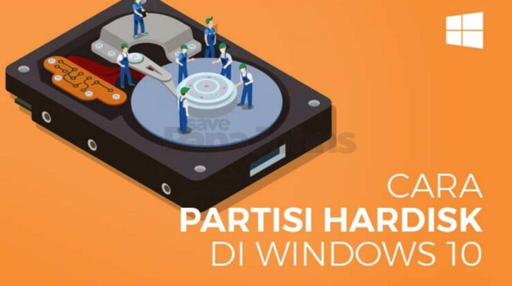 cara partisi hardisk di windows 10