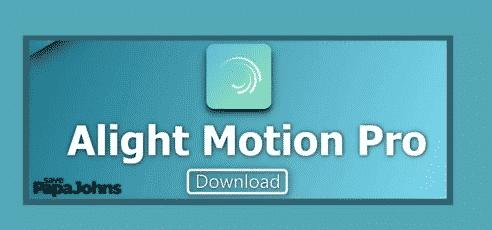download alight motion pro