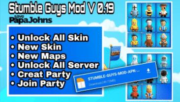 stumble guys mod menu