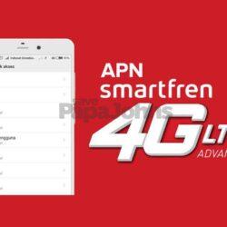 APN Smartfren Tercepat dan Stabil 2021