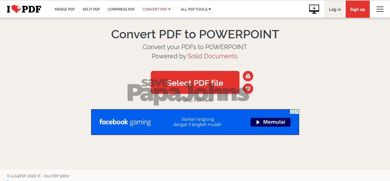 cara merubah pdf ke ppt