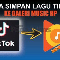 Cara Download Lagu dari Tiktok