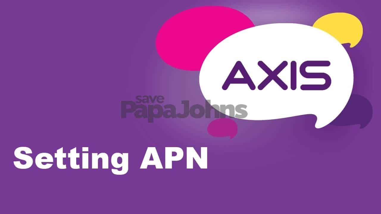 setting apn axis