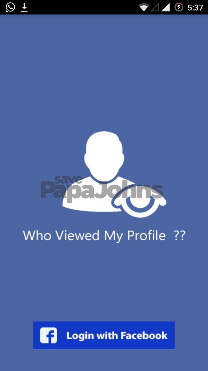 cara melihat stalker fb