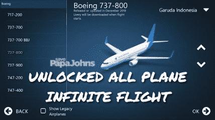 download infinite flight mod apk