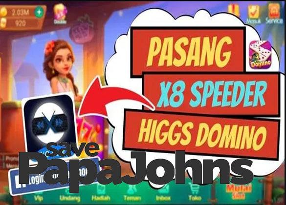 download x8 speeder domino island apk